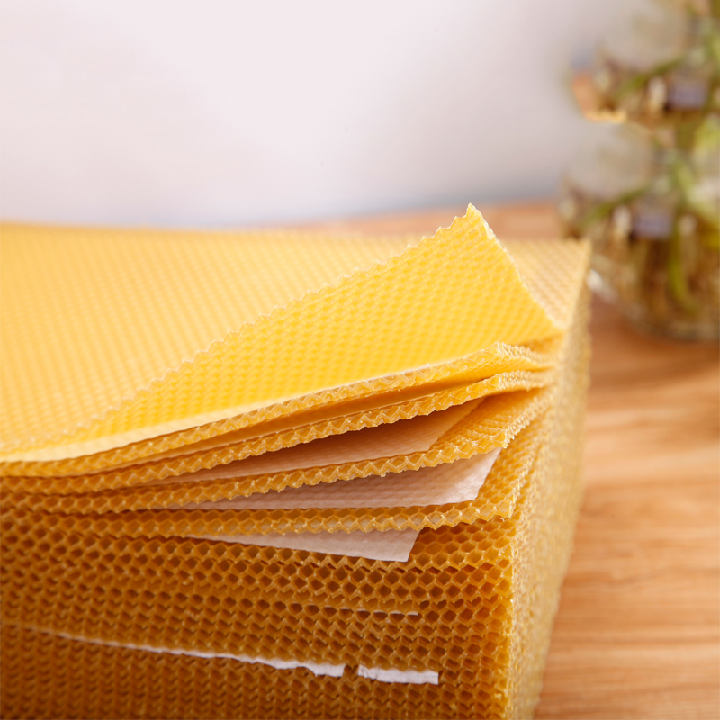 honeycomb-beeswax-sheet-wholesale-making-beeswax-foundation